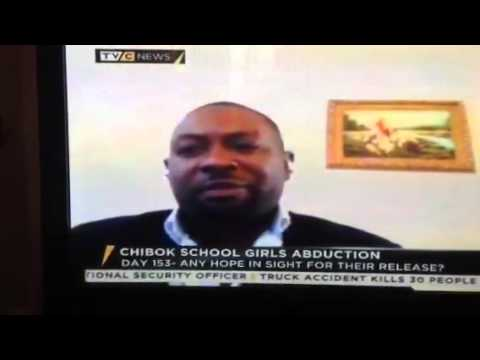 Temitope Olodo speaks on Nigeria Chibok Girls and Boko Haram