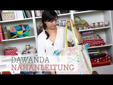 dawanda n hanleitung tasche n hen youtube. Black Bedroom Furniture Sets. Home Design Ideas