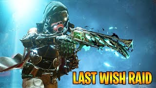 DESTINY 2 - THE LAST WISH RAID - FIRST ATTEMPT GAMEPLAY (Destiny 2 Forsaken Raid)