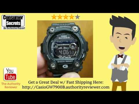 [Review & SALE] Casio Men's GW7900B-1 G-Shock Black Solar Sport Watch