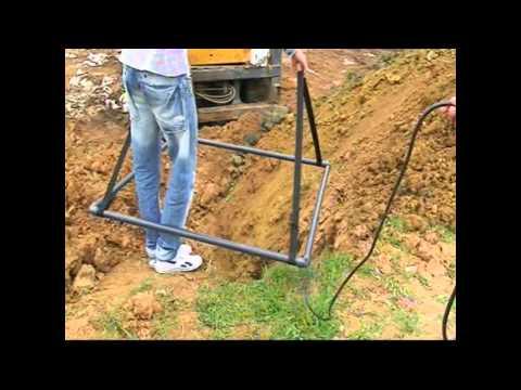 kyzikos dedektör 2x2  metre başlıkla 4 metreden varil  testi