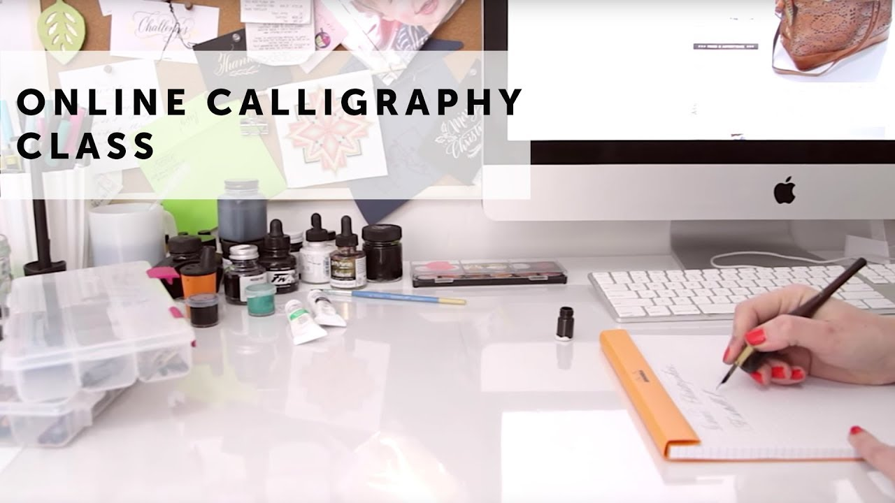 Online calligraphy class i still love calligraphy youtube Caligraphy i