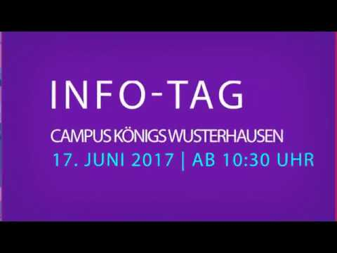 Studieren mit Gehalt - Hochschul- und Ausbildungsinformationstag 2017
