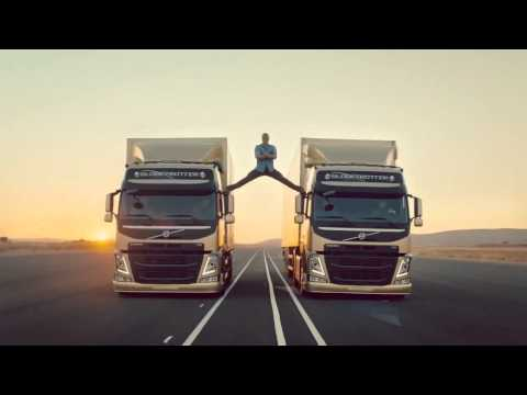 Definitely.Viral - Jean-Claude Van Damme Epic Leg Split for Volvo Trucks