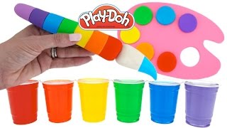 Dye Coloring Play Doh Kids Creative Color Fun Play Doh Molds