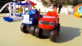 Kids toy  Cars for kids videos  Monster truck assemblies