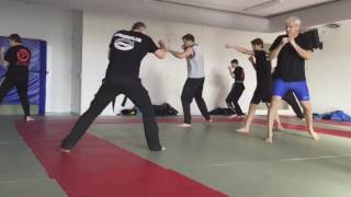 Grade test Krav Maga International IKMA Gidon System Netherlands
