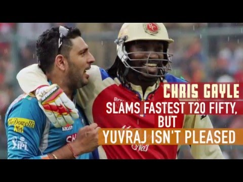 Why Yuvraj Singh is disappointed with Chris Gayle's fastest T20 fifty