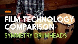 Remo: Film Technology Comparison - Symmetry Drumheads
