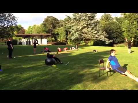 SOS in hermitage park