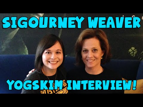 Sigourney Weaver and Alien Isolation - YOGSKIM INTERVIEW