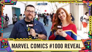 Neil Gaiman Revealed on Marvel Comics #1000 at This Week in Marvel LIVE at SDCC 2019!
