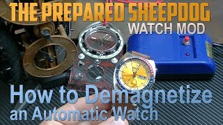 Demagnetize my Seiko 6139-6001 Pogue Watch