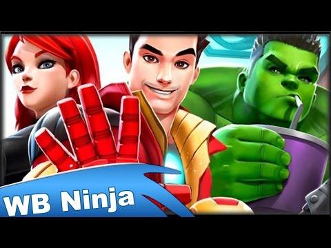 Marvel: Avengers Academy! - WB Ninja Gameplay