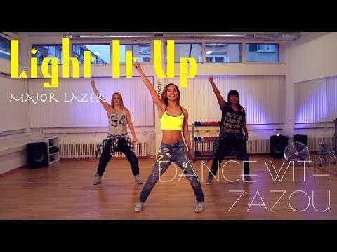 Dance With Zazou: Major Lazer - Light It Up (Dance Tutorial)