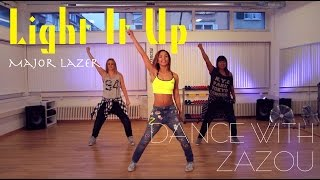 Dance With Zazou: Major Lazer - Light It Up (Dance Tutorial)