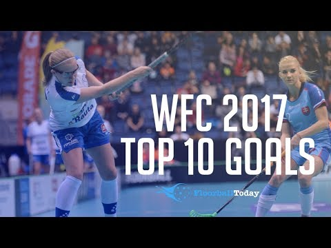 World Floorball Championships 2017 Top 10 Goals