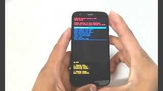 Motorola Moto G XT1032 XT1033, Hard Reset, Como Formatar, Desbloquear, Restaurar, resetear