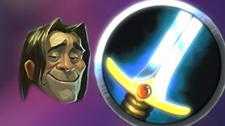 Hearthstone - Trying to win a game with control warrior