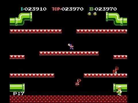 Mario Bros - Mario Bros Netplay Tournament - Round 2 - Davideo7 (p1) vs patar4097 (p2) - User video
