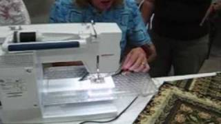 Sewing Kaleidoscope Quilt Block At Cairns Sewing Centre