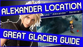 How to Get Alexander Summon Materia in Final Fantasy 7 PS4 - Great Glacier Guide!