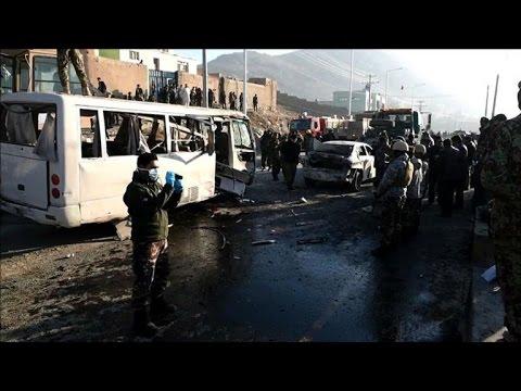 Taliban suicide blast kills six Afghan soldiers in Kabul