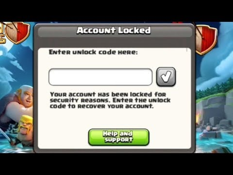 How To Get Back Hacked Clash of Clans Account -  2017