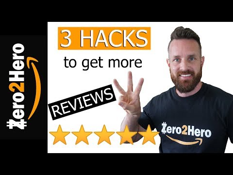 3 Hacks to get more reviews on Amazon fba without breaking amazon's terms of service