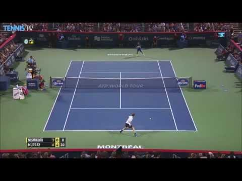 2015 Rogers Cup - ATP Semi-Final Highlights - Djokovic Nishikori Murray