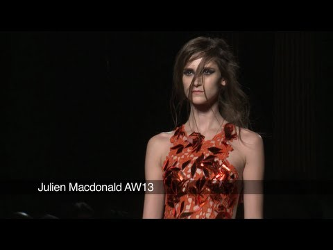 Julien Macdonald London Fashion Week show: Julien Macdonald AW 2013 Collection