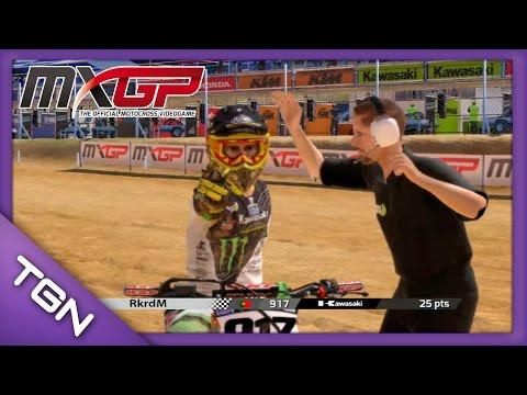 MXGP The Official Motocross Videogame    RkrdM in Kawasaki KX450 Monster Energy    PS3