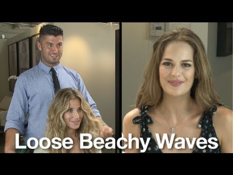 How to Get Sexy Beach Waves with a Flat Iron
