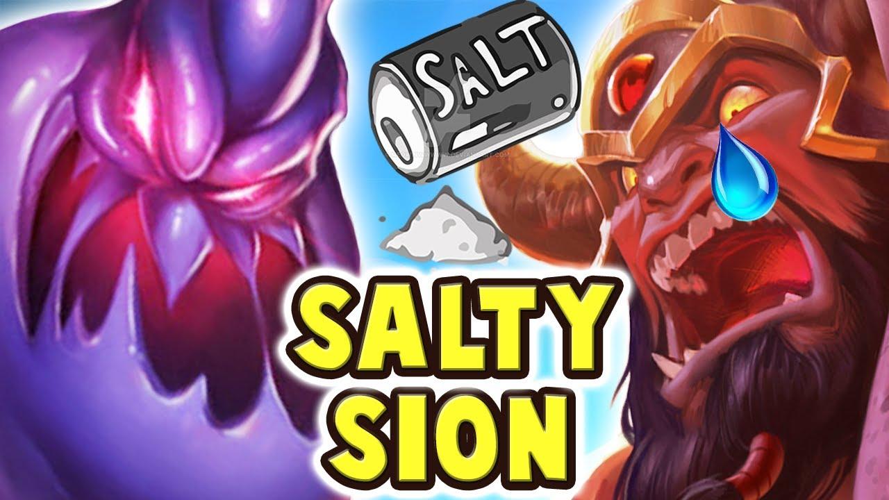 SALTY SION VS FULL AP ZAC | THE SALTIEST PLAYER EVER | YOU GOTTA BE KIDDING ME - Nightblue3