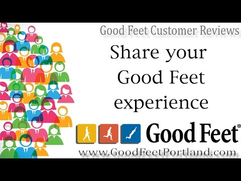 Good Feet Portland Customer Finds Foot, Ankle And Knee Pain Relief With Good Feet Arch Supports