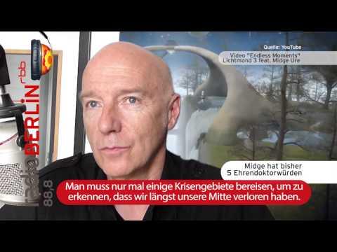 Midge Ure bei Jürgen Jürgens/Hey Music (radioBERLIN 88,8)