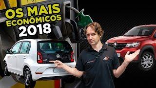 💰8 Carros mais Econômicos do Brasil em 2018 (Mas quais são seguros?) | AutoVideos