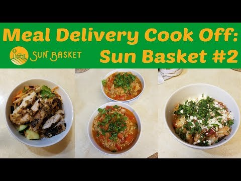 Meal Delivery Cook Off:  Sun Basket #2