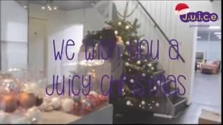 Kerstboom J.u.i.c.e. Promotions optuigen 2017