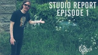 OPETH - Sorceress: Studio Report (Ep 1)
