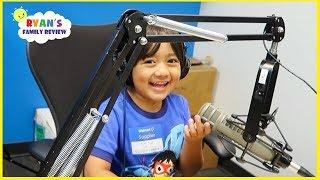 Ryan's New Job as Radio DJ Ryan at Walmart!!!