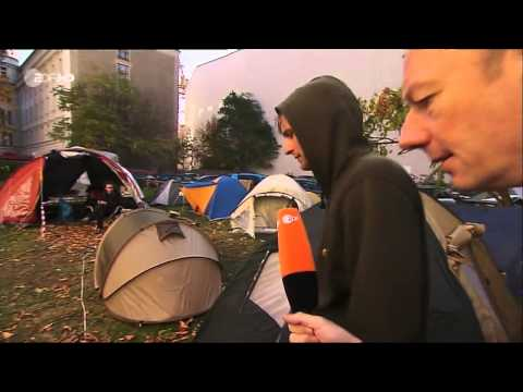 Martin Sonneborn - Occupy-Camp