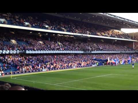 THE IBROX ROAR IS BACK!
