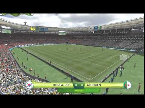 South Korea VS Algeria 2-4 World Cup 2014 All Goals & Highlights HD
