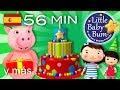 La canción de Cumpleaños feliz | Y muchas canciones infantiles para fiestas | ¡Littlebabybum! -