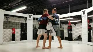 Underhook Technique for MMA, Muay Thai and Dirty Boxing