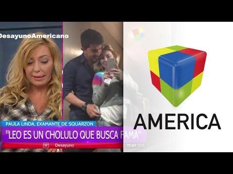 Paula Linda, la amante, habló de la visita de Granata y Squarzon a lo de Susana