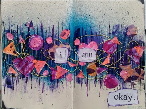 Mixed Media Art Journal Page #4
