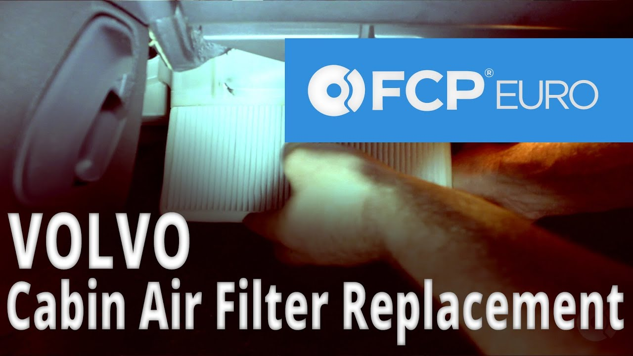 Volvo Cabin Air Filter Replacement (S60) FCP Euro - YouTube