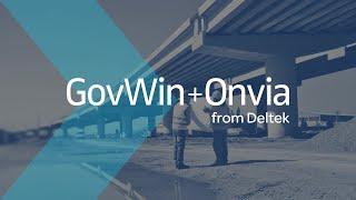 GovWin+Onvia – A Winning Combination
